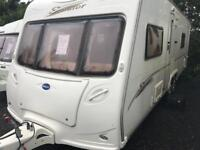 Bailey senator Wyoming 2007 twin axle fixed bed touring caravan