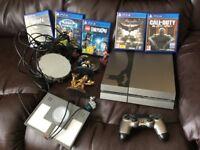 PS4 batman arkham knight limited edition console+ 5 games+ portals+ figures £200 no offers
