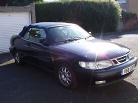 SAAB 9-3 Convertible, 1999 (2.0l light pressure turbo engine)