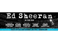 Ed Sheeran. Tickets. I am selling as my daughter does not want them
