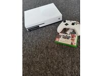 Xbox one with pad - excellent condition barely used