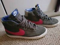 Nike Vintage Blazers size 4 high top trainers