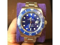 Rolex submariner Blue ceramic bezel model 🔵🔵£165🔵🔵
