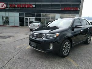 2014 Kia Sorento SX One Owner NAVI Leather SUNROOF