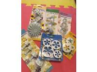 Sugarcraft/cake making cutters