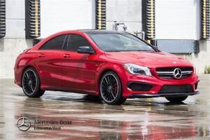 2015 Mercedes-Benz CLA45 AMG 4MATIC Premium Plus & AMG Exclusive
