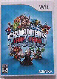 Skylanders trap team game and portal for Nintendo wii