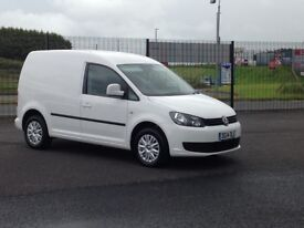 STUNNING VOLKSWAGEN CADDY 102BHP TRENDLINE. SOUGHT AFTER MODEL WITH ALL THE EXTRAS ONLY 31K MILES.