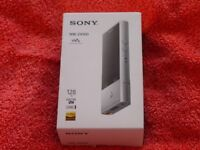 Sony NW ZX100 Hi Res audio player 128gb brand new.