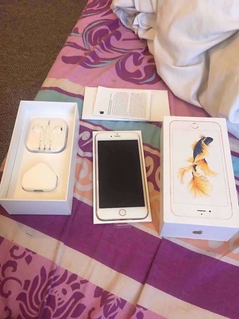 iphone 6s gold 64gb unlocked great condition boxed with all accessories selling as upgradedin Newham, LondonGumtree - iphone 6s gold 64gb unlocked great condition boxed with all accessories selling as upgraded