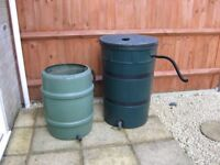 2 x Water Butts
