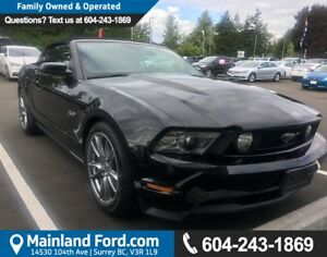 2011 Ford Mustang GT LOCAL, LOW KM'S, NO ACCIDENTS