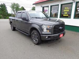 2015 Ford F-150 XLT 4X4 5.0L w/ longer box/console/back rack!