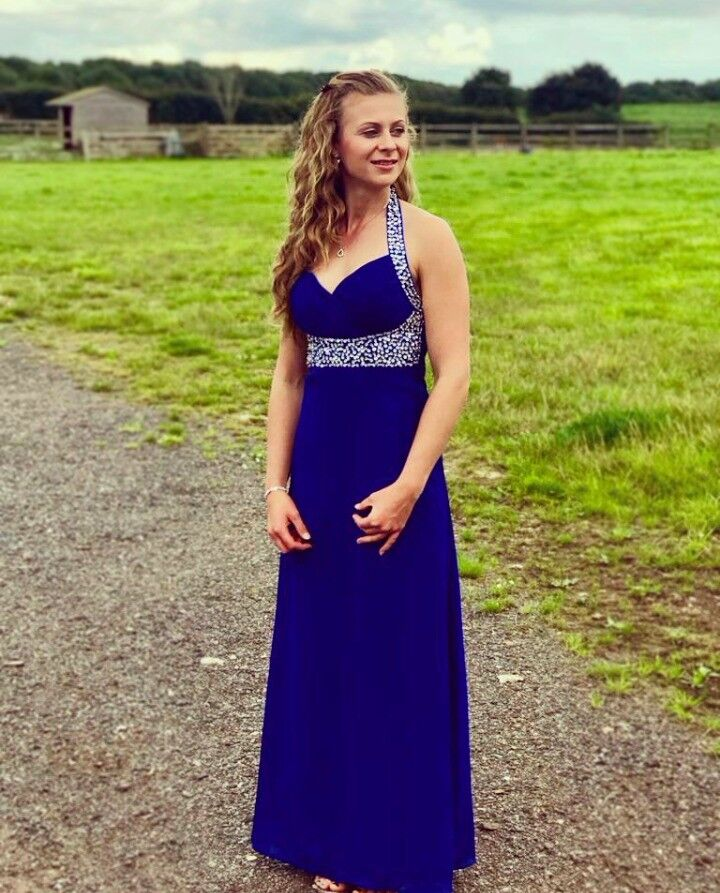 Prom dress. Size 8in Diss, NorfolkGumtree - Size 8 prom dress. Worn once. In perfect condition. Amazing bright blue colour. Perfect for prom, graduation or a wedding. Brought originally for £80 asking for half the price