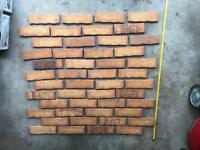 Brick slips tiles approx 40sq m