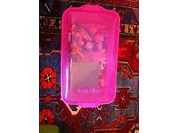Lego Pink Box of Bricks