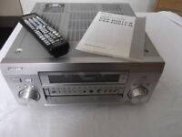 Pioneer VSX-D2011S 7.1 (7X100watts) AM/FM AV receiver with original learning remote