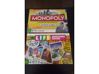 Monopoly & Game of Life Board Games