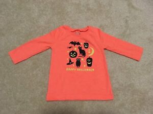 12m Happy Halloween shirt in excellent condition