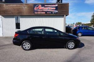 2012 Honda Civic LX AUTOMATIQUE FULL ÉQUIPÉ SEULEMENT 74 800KM
