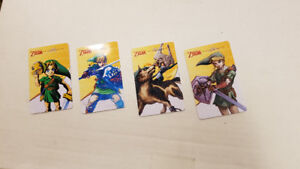 Amiibo cards (plastic) *NOT tags/cardboard* Switch Wii 3DS