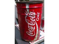 Vintage Coke bin