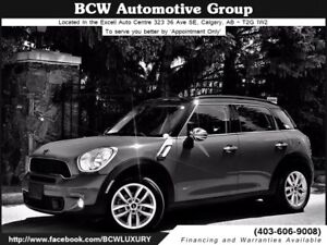 2013 MINI Cooper Countryman S AWD Low Km Navigation $22,995.00