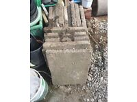 Old style paving slabs reclaimed