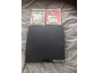 PS3 320GB + two games