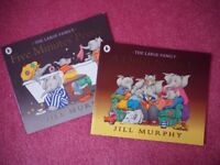 The Large Family Childrens Paperback books