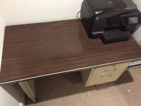French Retro Style Office Desk