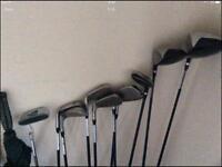 Wilsons men's golf set with Brolley