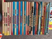 Rare dandy books ranging from 1966 - 1993 varied condition