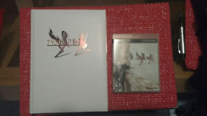 Final Fantasy XIII, XIII-2 plus guide, and XIII-3
