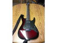 ***ESP LTD AW 7 7 string guitar*** £250 reduction just want it gone asap