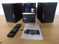 We have this Hitachi Micro Hi Fi System for sale which has DAB radio & iPhone/iPod Docking