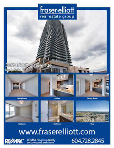 2 Bed PLUS Den home is found near the top of Delta's tallest bui