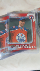 65 CONNOR McDAVID HOCKEY CARDS MEMORABLE MOMENTS CAN 16