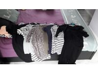 Size 8 & 10 maternity/breast feeding clothes