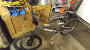 Stainless steel-light weight -bmx bike