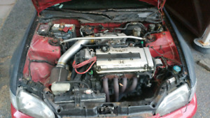 B16A engine and transmission for sale