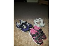 Nike reebok and clarks all size 11