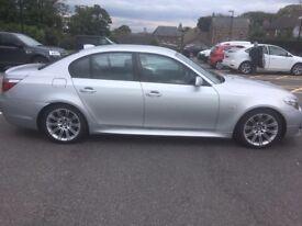 BMW535d silver 360bhp