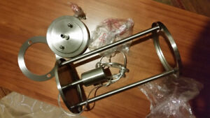 Never used   ceiling stainless light