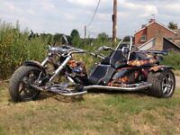 Trike: Boom Fighter X11 Special, Peugeot 2 litre
