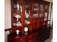 Display cabinet for living room.