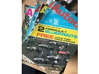 Autocar magazines. 1967. Mini Mercedes maserati Jensen
