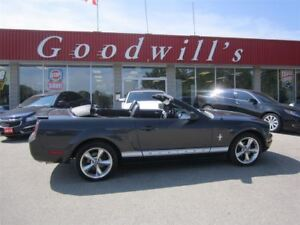 2007 Ford Mustang CONVERTIBLE! 5-SPEED! LEATHER INTERIOR!