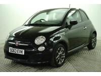2013 Fiat 500 S Petrol black Manual
