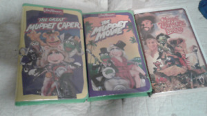 Muppet VHS movies